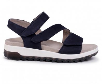 Gabor 'Florenze' Navy Nubuck Sandal